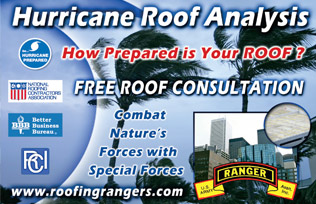 Emergency Roofing Response - the Commercial Roofing Contractors at your service 24/7!