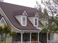 Tile Roofing - Metal Tile Roofing - Shake Roofing - Conquest Stone Coat